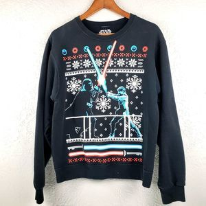 Star Wars Christmas Graphic Sweatshirt - S